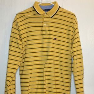 Tommy Hilfiger polo shirt long sleeves Size L